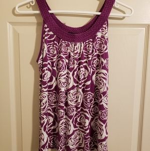 2/$15 H&M Tank Top with Braided Neckline Size S